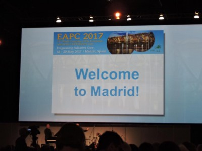 EAPC 2017 conference…..summer in Madrid