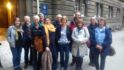 A jam-packed palliative care weekend in Edinburgh!