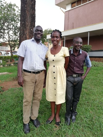 Volunteers at the heart of the Mulago Palliative Care team